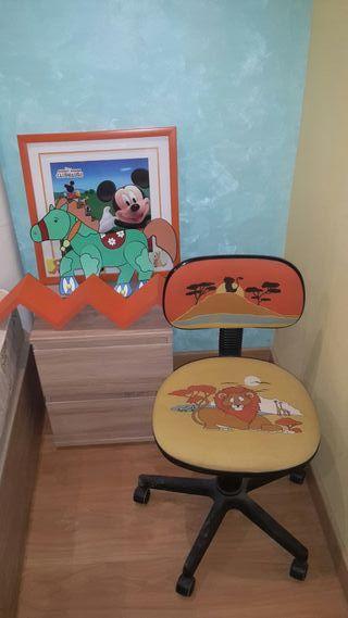Articulos niño. silla, cuadro...