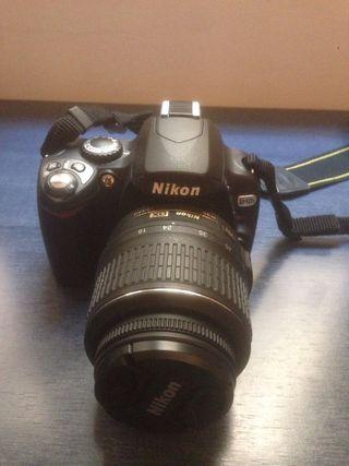 Nikon D40X + objetivo