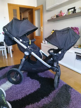 carrito baby jogger gemelar