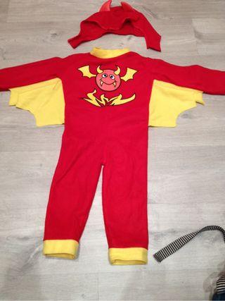 Disfraz niño diablo