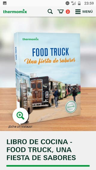 libro Thermomix Food Truck