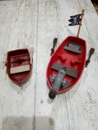 duo de barcas playmobil