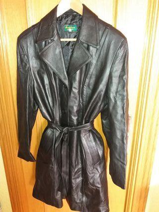 Abrigo de piel talla XL
