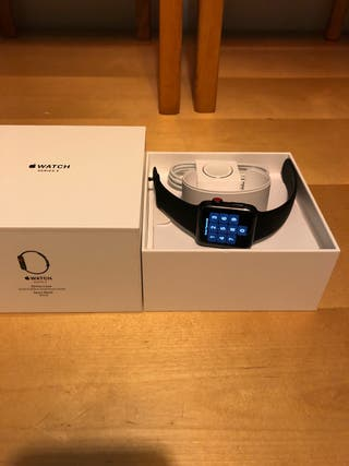 Apple Watch series 3 42mm stainless steel