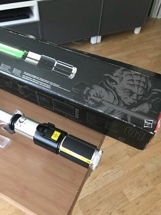Star wars sable laser black series hasbro Yoda