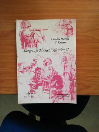 Libro Conservatorio 1°Profesional, está forrado.