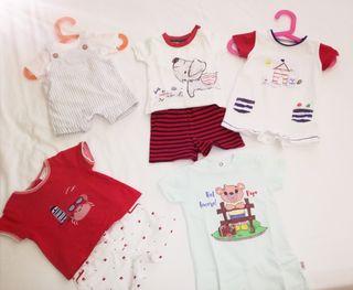 Lote ropa bebé niño 2-4 meses (56-62cm)