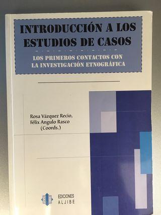 """Libro """"estudio de Casos"""""""