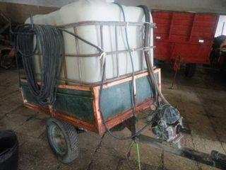 fumigadora tractor