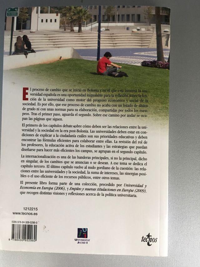 """LIBRO """"EL DÍA DESPUÉS DE BOLONIA"""""""