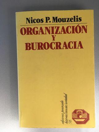 """Libro """"Organización y burocracia"""""""