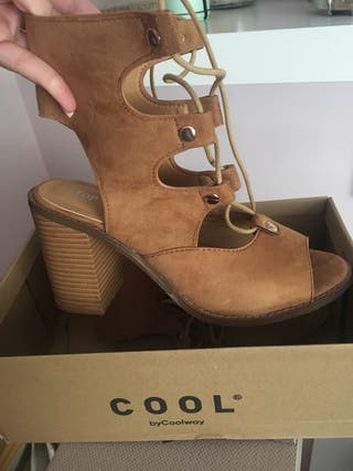 Sandalias zapato mujer romana