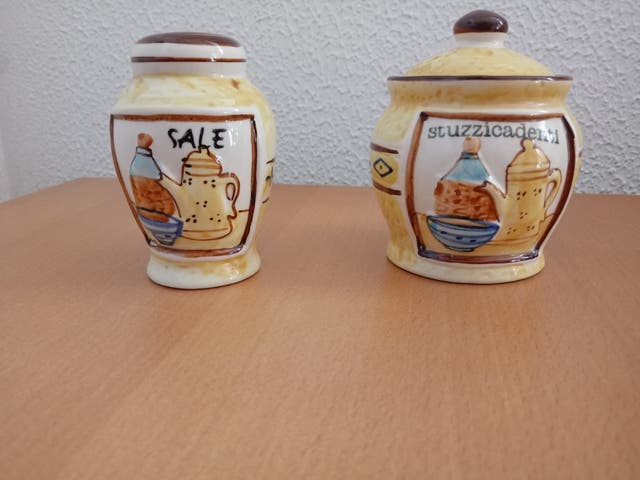 Salero y Azucarero Vintage.