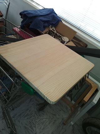 tablas de madera sobre encimera