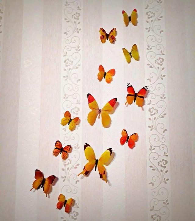 Mariposas 3D.