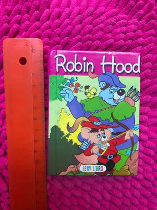 Minilibro Robin Hood. Ideal para primeros lectores
