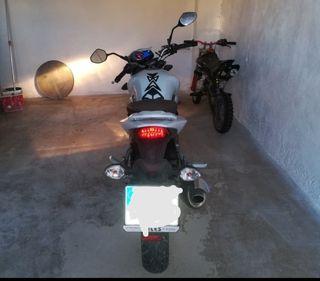 Moto Sym Wolf 125 cc