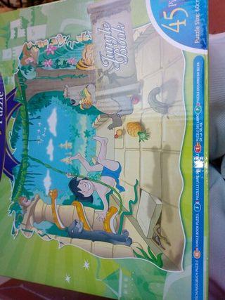puzzle infantil piezas grandes cartón