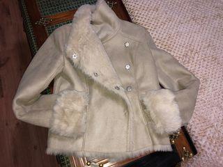 Abrigo cazadora beige pepe jeans