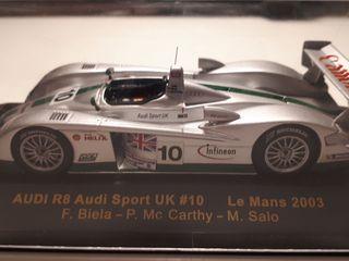 Audi R8 Le Mans. Maqueta 1:43