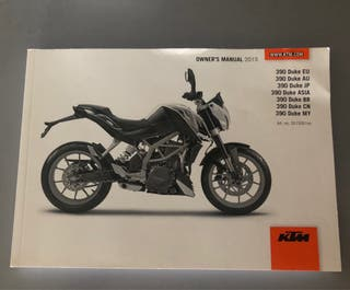 Manual KTM 390