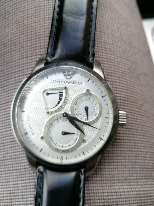 4a7e8e9e9b23 Reloj emporio armani automático de segunda mano por 100 € en Oron en ...