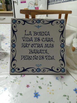 azulejo para colgar