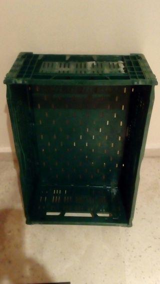 caja plástico duro plegable