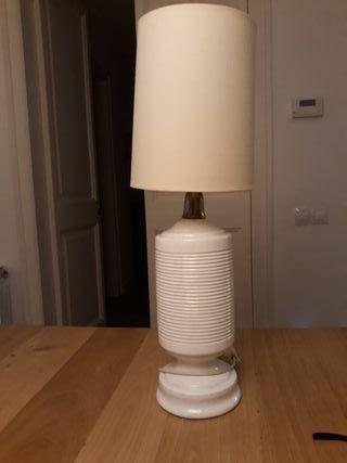 Lámpara sobremesa porcelana