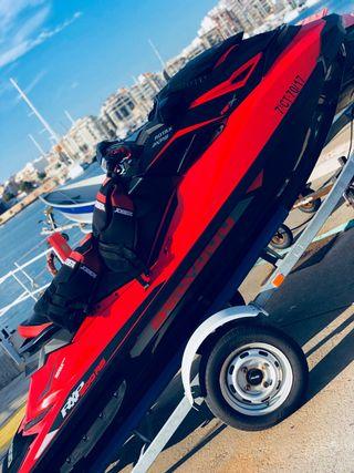 MOTO DE AGUA - SEA DOO RXP 300 RS + REMOLQUE + 2..