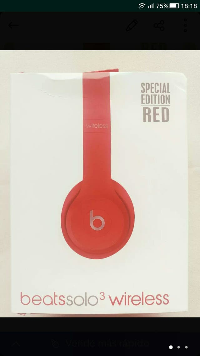 Vendo auriculares beats solo3 wireless