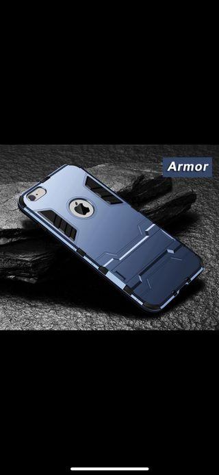 iPhone X y XS funda carcasa protector con soporte.