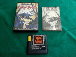 Risky Woods Sega Mega Drive como nuevo