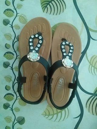 zapatos, sandalias