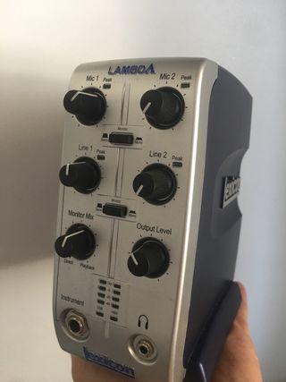 Tarjeta sonido externa, Lexicon Lambda
