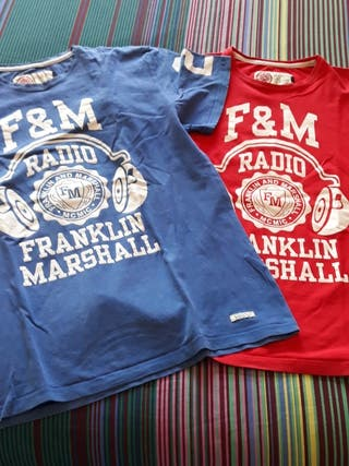 camiseta Franklin Marshall XL