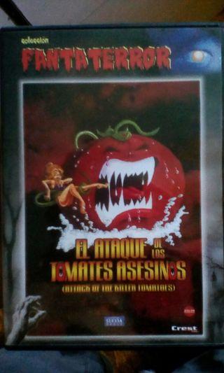 DVD El ataque de los tomates asesinos