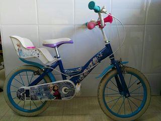 Bicicleta Niña Frozen 16'