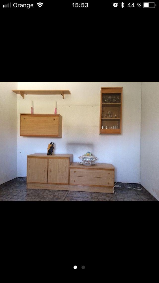 Mueble de salita o comedor por módulos de segunda mano por 50 € en ...