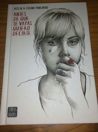 Libro Antes de que te vayas quiero Decirte