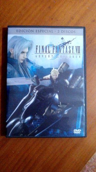 DVD E. Especial Final Fantasy VII: Advent Children