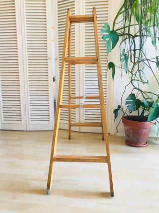 Escalera madera 120 cm