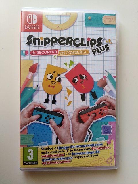 Juego Nintendo Switch Snipperclips De Segunda Mano Por 20 En