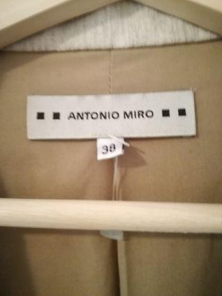 Antonio Abrigo De Mujer Segunda 30 Por Mano Miro qxCA1axw7