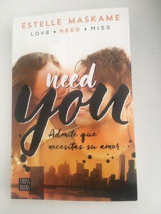 Libro need you
