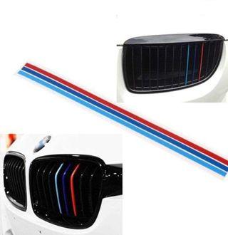 BMW M tricolor para riñón parrilla