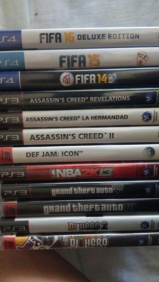 Juegos PS4/PS3