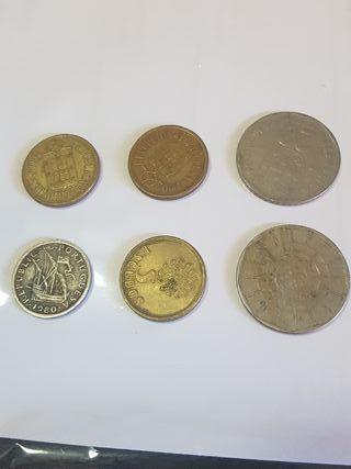 monedas escudos Portugal