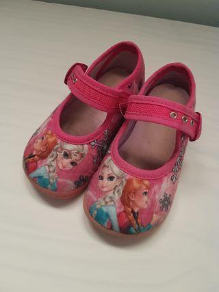 Zapatos de niña Frozen talla 21