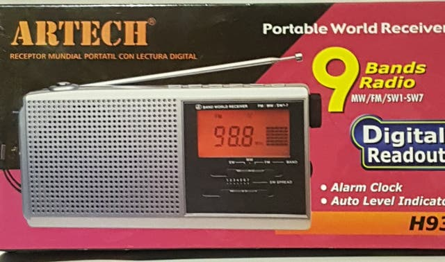 radio digital 9 bandas a estrenar